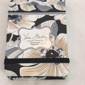 Vera Bradley pocket papers. NWT
